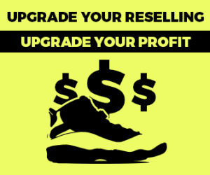 Upgrade Your Reselling of Sneakers, Upgrade Your Profit