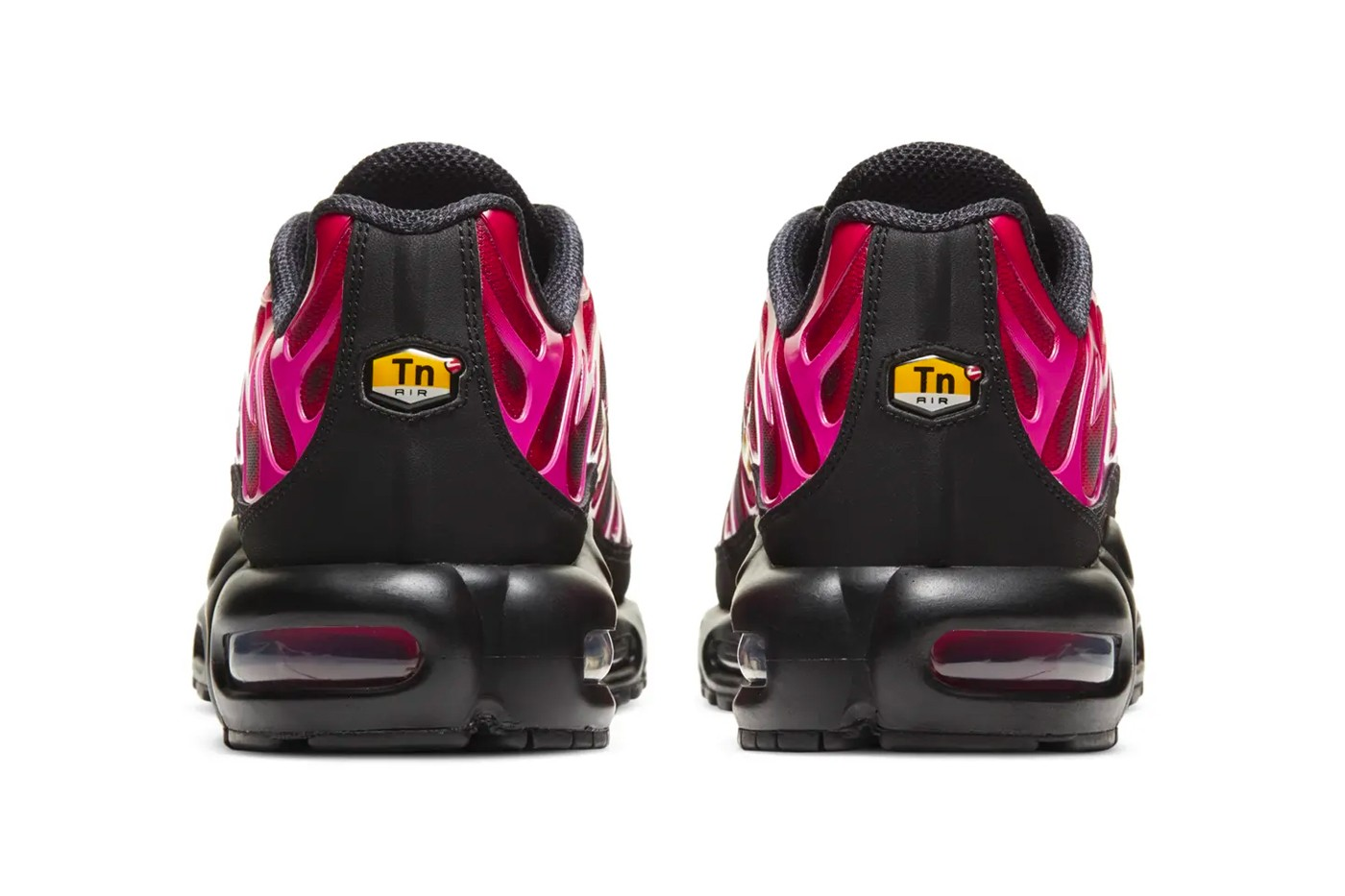 Supreme-Nike-Air-Max-Plus-Fire-Pink-Rear-View