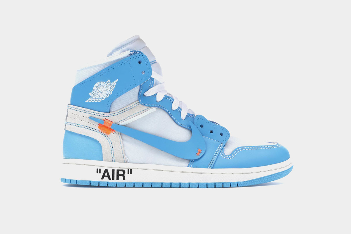 Off-White Jordan and Converse