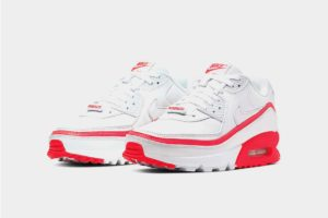 Undefeated Nike Air Max 90 white Red