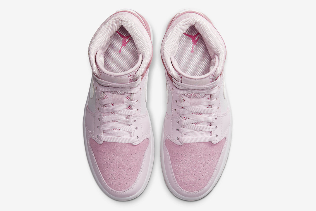 Jordan 1 Mid Digital Pink Release And Resale Guide Six Figure