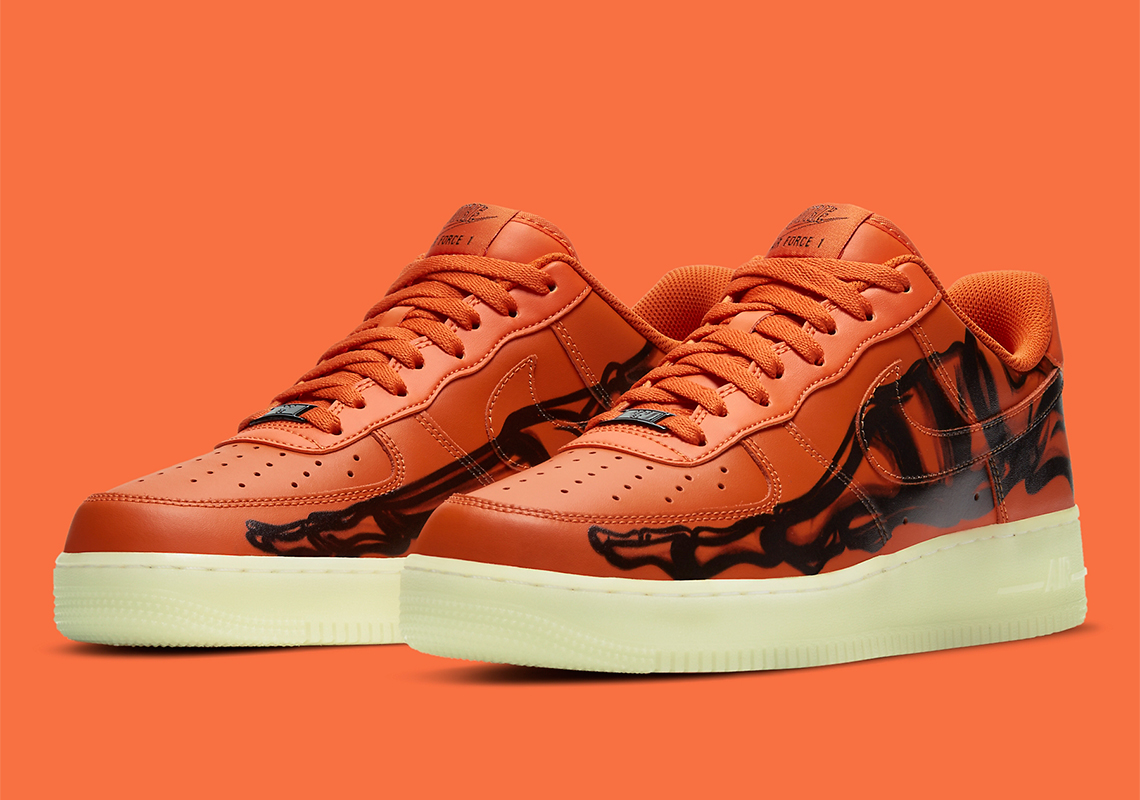 nike-air-force-1-low-orange-skeleton-