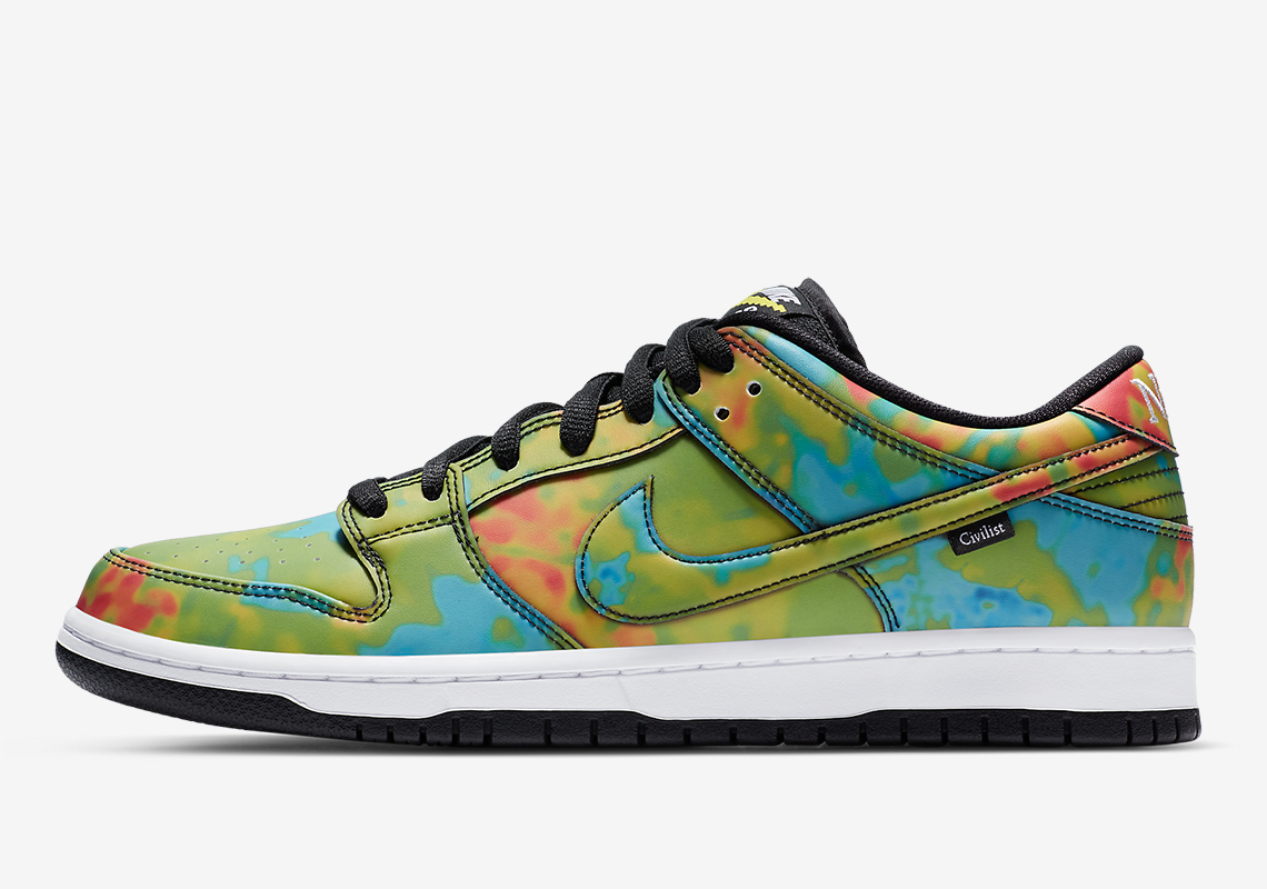 Civilist Nike SB Dunk Low - Release Date and Resale Price ...
