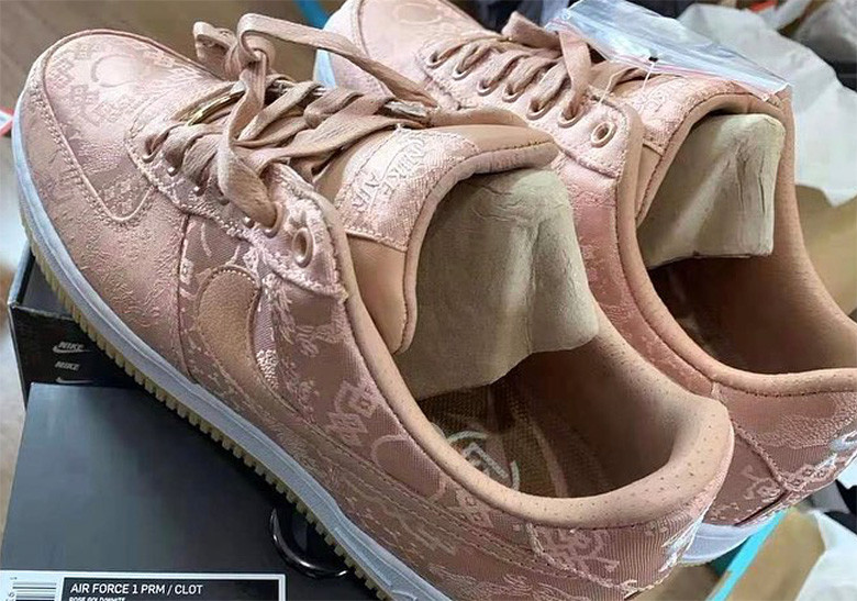 CLOT-Air-Force-1-Rose-Gold